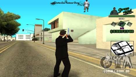 Hud By Tony para GTA San Andreas terceira tela