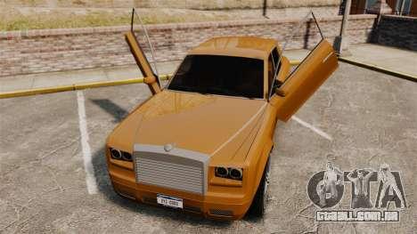 Super Diamond VIP para GTA 4 vista de volta