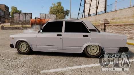 UTILIZANDO-Lada 2107 para GTA 4 esquerda vista