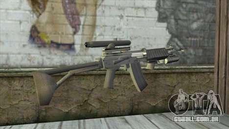 M21S para GTA San Andreas segunda tela