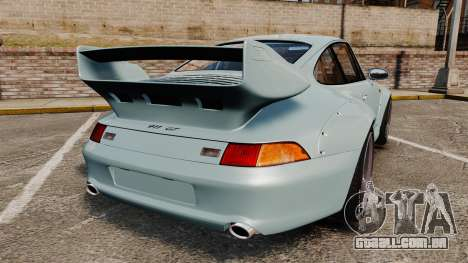 Porsche 993 GT2 1996 v1.3 para GTA 4 traseira esquerda vista