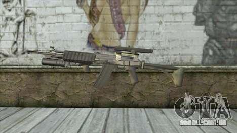 M21S para GTA San Andreas terceira tela