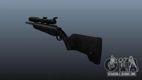 O fuzil Steyr Scout para GTA 4 segundo screenshot