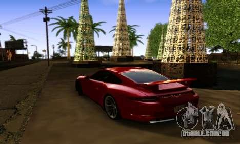 ENBSeries Exflection para GTA San Andreas segunda tela