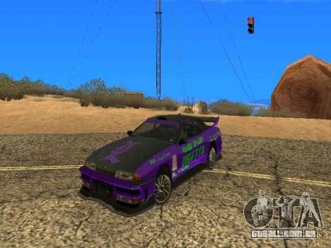 Equipe de Luni vinis para Elegy para GTA San Andreas vista direita