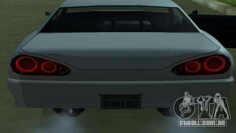Elegy 280sx para GTA San Andreas vista superior