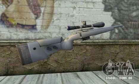 Sniper Rifle para GTA San Andreas segunda tela