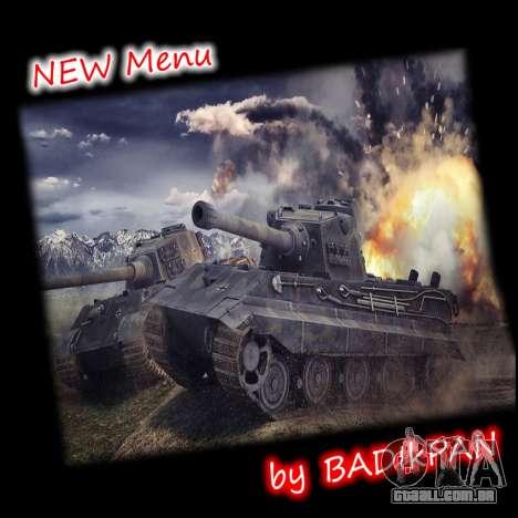 Menu de World of Tanks para GTA San Andreas