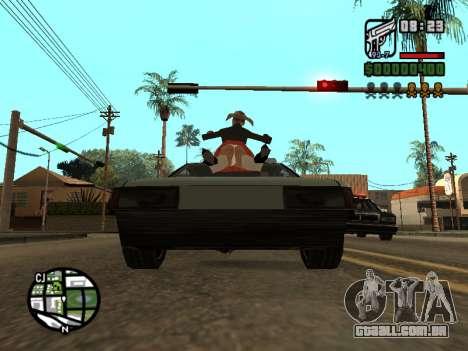 Ketchup na capa para GTA San Andreas quinto tela