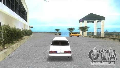 Serviço de limusina Tofaş para GTA Vice City deixou vista