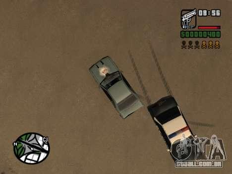 Ketchup na capa para GTA San Andreas sexta tela