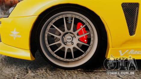 Toyota Supra 1994 (Mark IV) Slap Jack para GTA 4 vista de volta