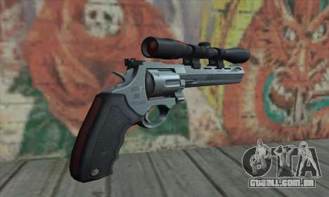 44.M Raging Bull with Scope para GTA San Andreas segunda tela