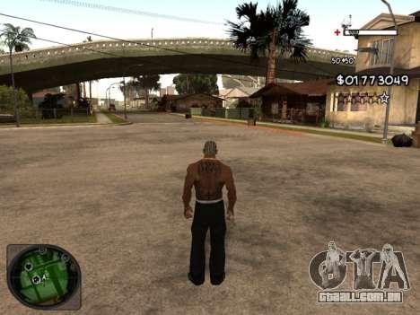 C-HUD by Azov para GTA San Andreas segunda tela