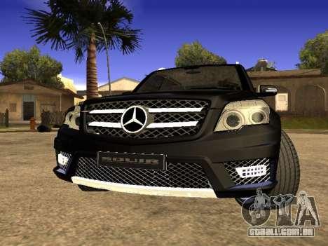 Mercedes-Benz GLK para GTA San Andreas