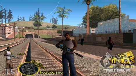 C-HUD Vagos by HARDy para GTA San Andreas