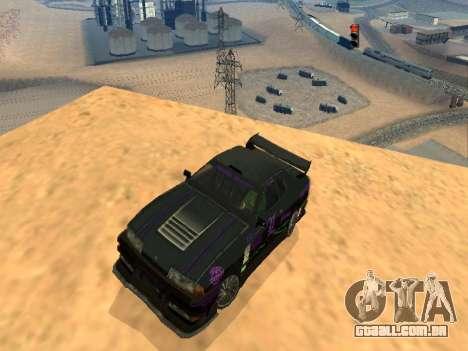 Equipe de Luni vinis para Elegy para GTA San Andreas vista interior