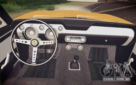 Equus Bass 770 para GTA San Andreas vista direita