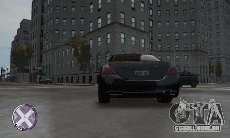 Enus Cognoscenti para GTA 4 traseira esquerda vista