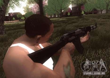 AK-103 para GTA San Andreas por diante tela