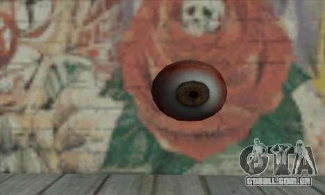 Eye Grenade para GTA San Andreas