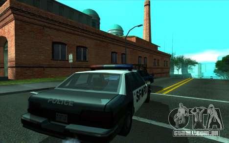 Cleaning bugs developers ENBseries para GTA San Andreas segunda tela