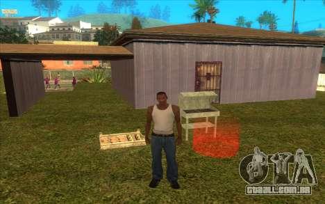 Barbecue para GTA San Andreas segunda tela
