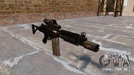 Espingarda automática DSA FN FAL para GTA 4