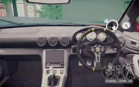 Nissan Silvia S15 BN Sports para GTA San Andreas vista direita
