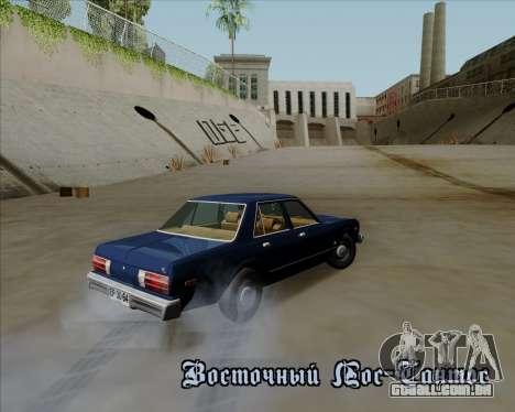 Dodge Aspen para GTA San Andreas esquerda vista