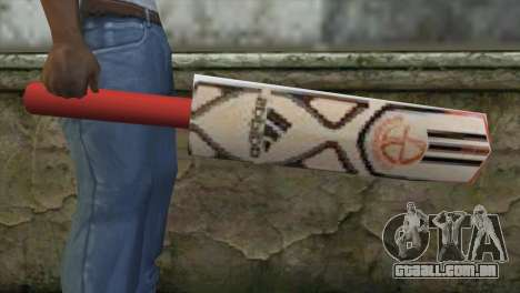 Adidas Cricket Bat para GTA San Andreas terceira tela