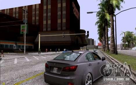 ENB HD CUDA 2014 v1.0 para GTA San Andreas segunda tela