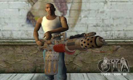 Lança-chamas para GTA San Andreas terceira tela