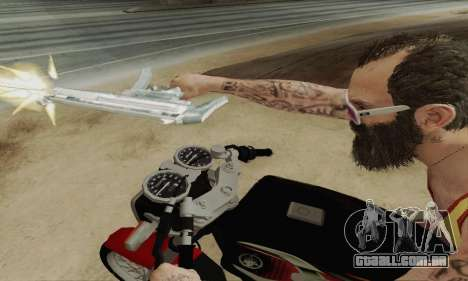 Yamaha Rx-King 135 2008 para vista lateral GTA San Andreas