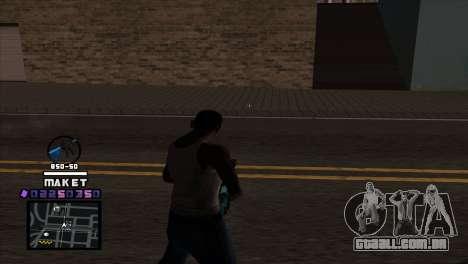 C-HUD Maket para GTA San Andreas segunda tela