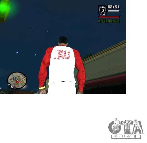 Formulário Olímpico Rússia para GTA San Andreas segunda tela