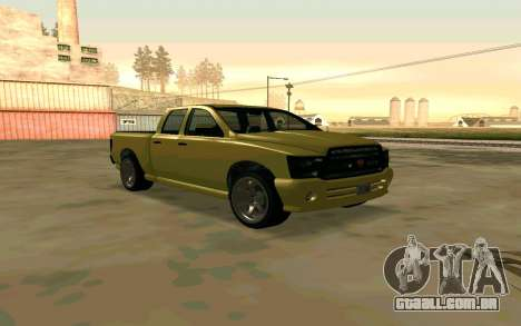 GTA V Bison Version 2 FIXED para GTA San Andreas