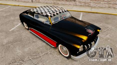 Mercury Lead Sled Custom 1949 para GTA 4 vista superior
