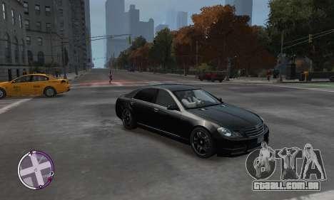 Enus Cognoscenti para GTA 4 vista de volta