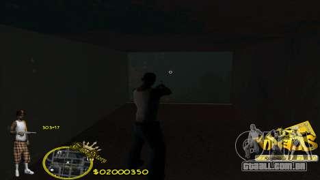 C-HUD Vagos by HARDy para GTA San Andreas segunda tela