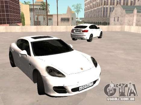 Porsche Panamera 2011 para GTA San Andreas vista direita