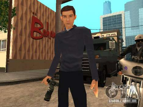 Peter Parker do jogo Spider-Man 2 para GTA San Andreas
