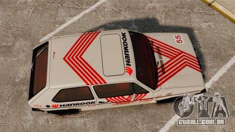 Volkswagen Rabbit GTI 1984 para GTA 4 vista direita
