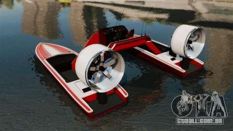Catamarã-Jetmax Aero- para GTA 4 traseira esquerda vista