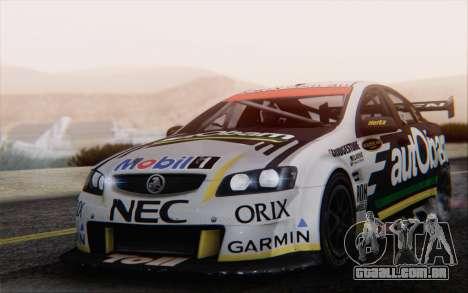 Holden Commodore para GTA San Andreas vista superior