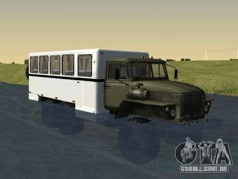 Ural 32551-0011 Assistir para GTA San Andreas vista direita