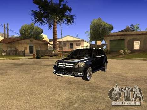Mercedes-Benz GLK para GTA San Andreas vista direita