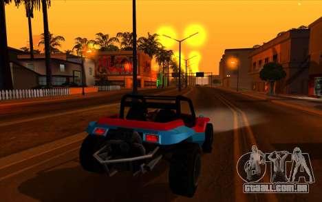 Cleaning bugs developers ENBseries para GTA San Andreas por diante tela