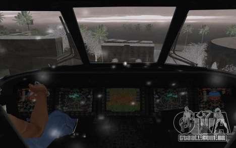 MH-X Silenthawk para vista lateral GTA San Andreas