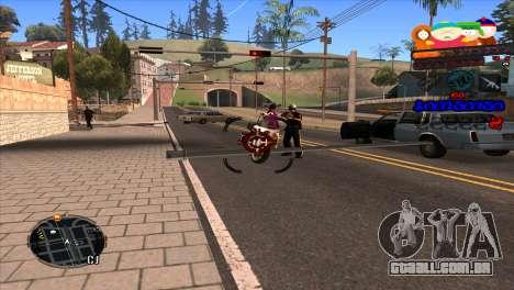 C-HUD South Park para GTA San Andreas terceira tela